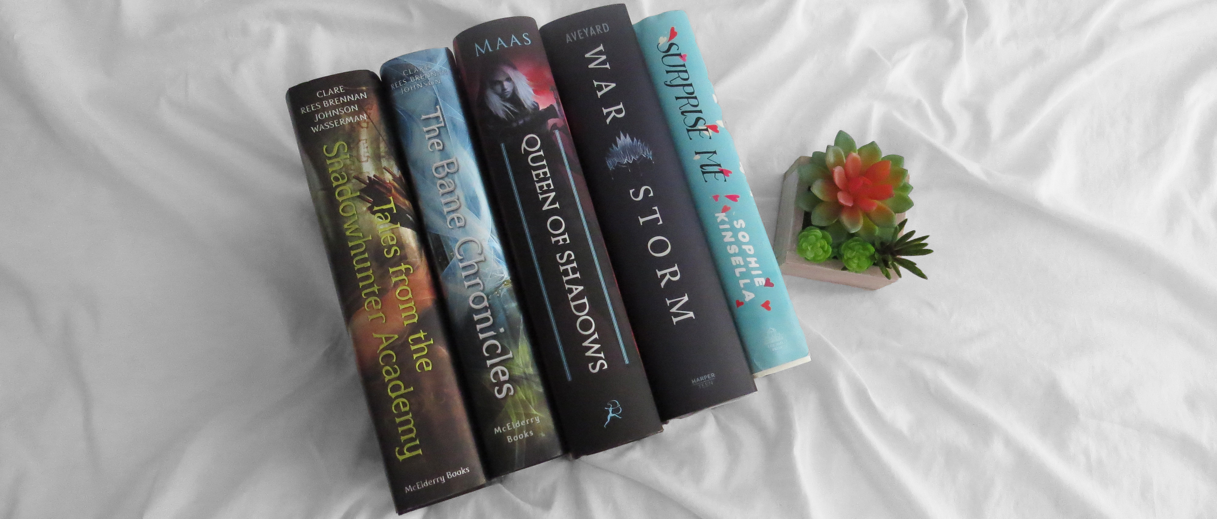 Top Ten Tuesday #16 | Books By My Favourite Authors!