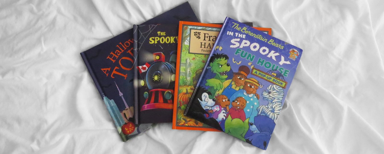 Five Halloween Books for Kids!