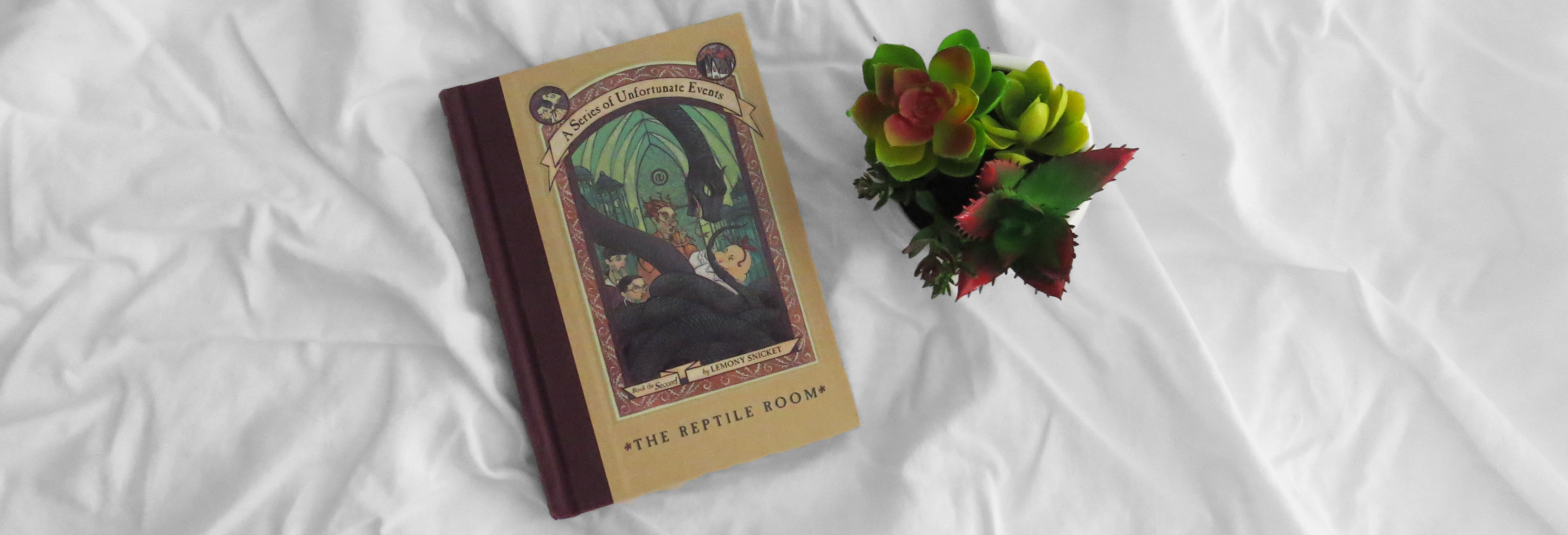 Middle Grade Monday | The Reptile Room by Lemony Snicket
