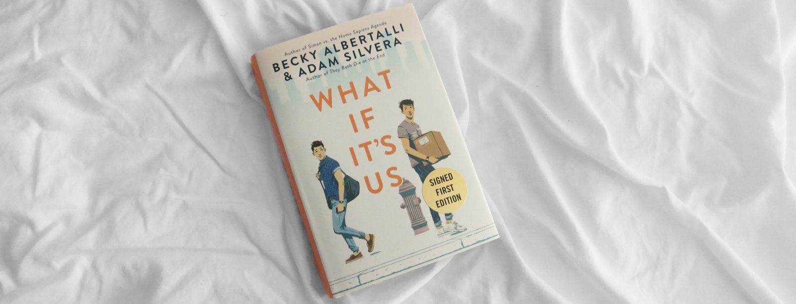 Review | What If It's Us by Becky Albertalli + Adam Silvera