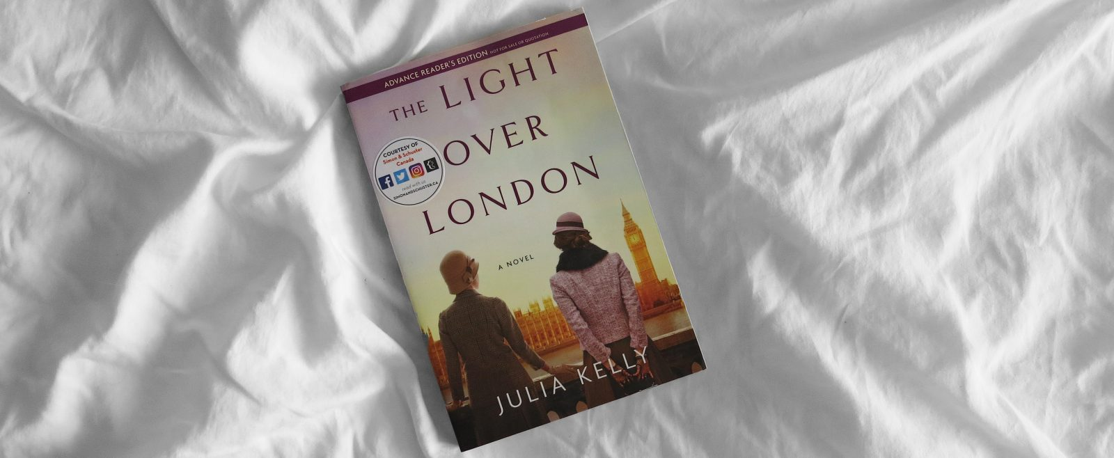 ARC Review | The Light Over London by Julia Kelly