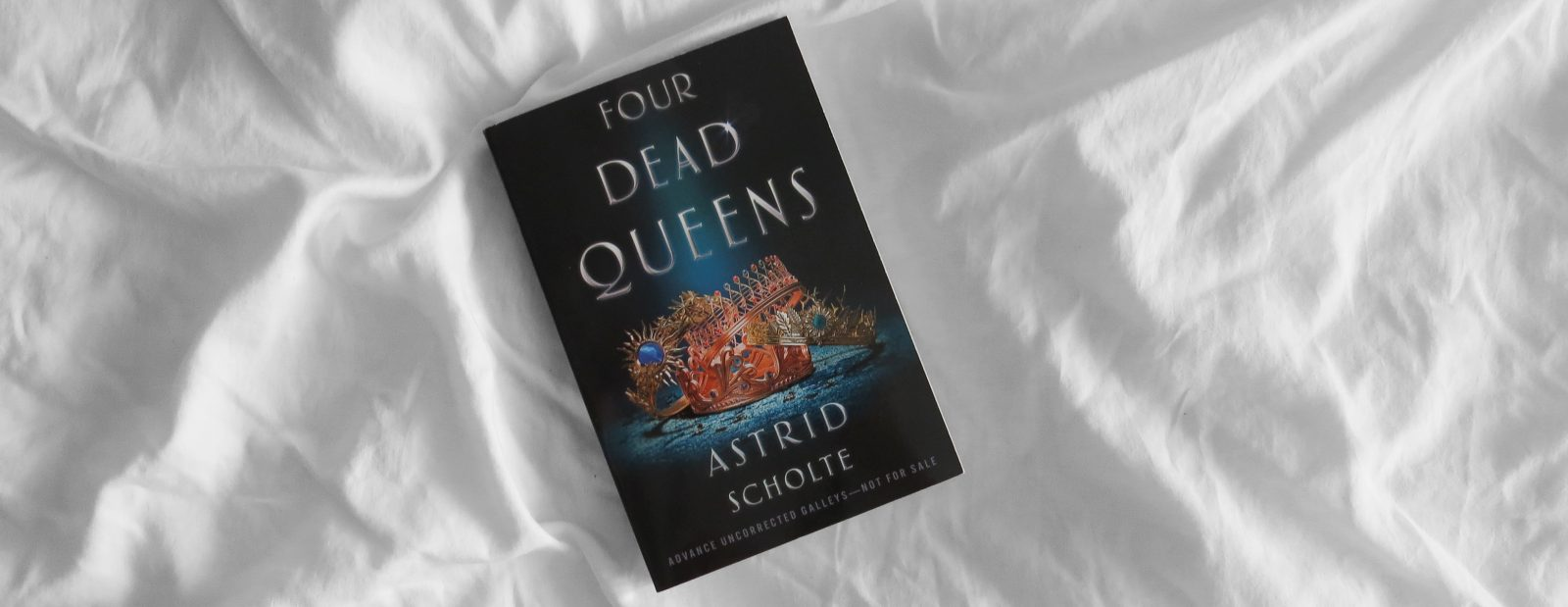ARC Review | Four Dead Queens by Astrid Scholte