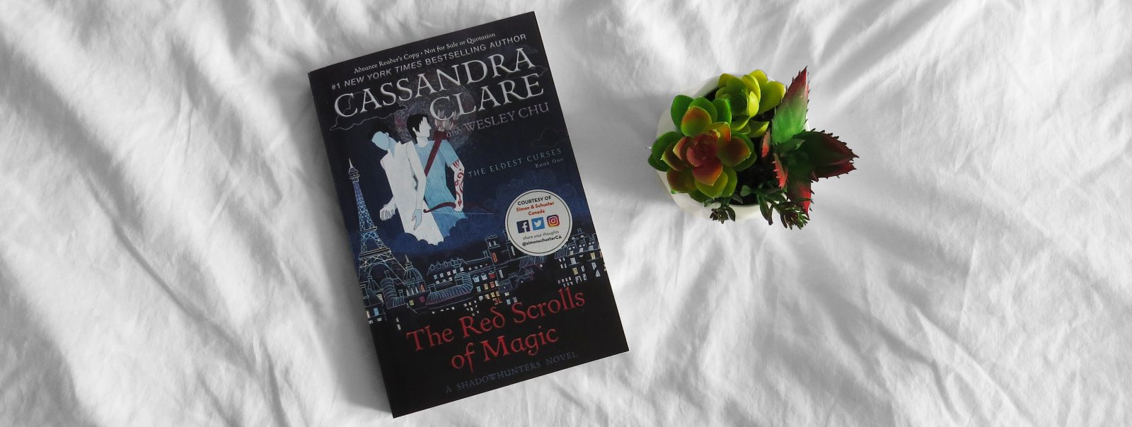 ARC Review | The Red Scrolls of Magic by Cassandra Clare + Wesley Chu