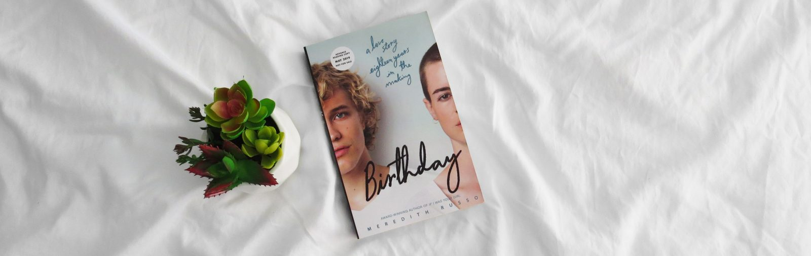 Blog Tour | Birthday by Meredith Russo Review